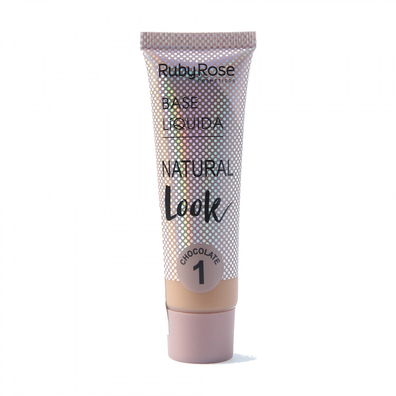 Base Líquida Natural Look Ruby Rose Chocolate