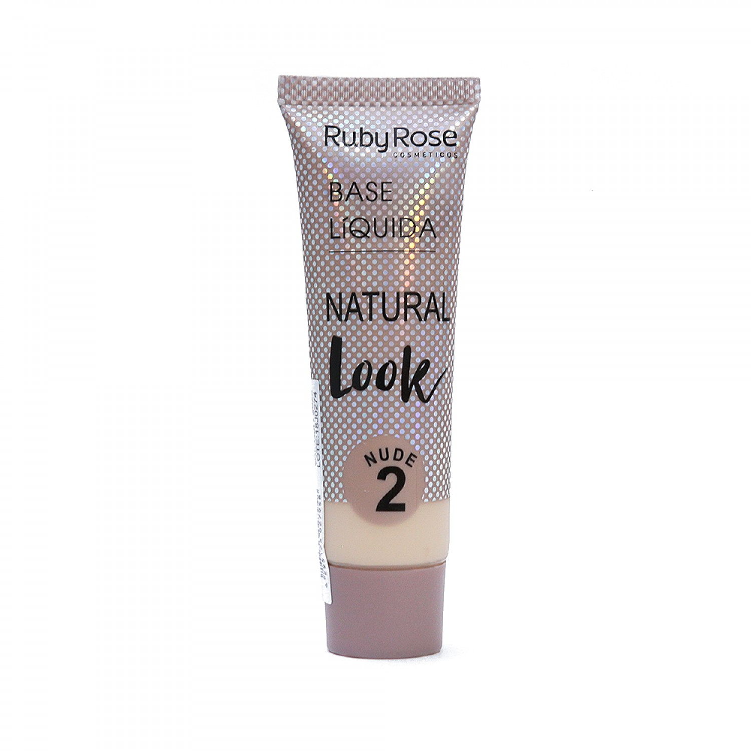 Base Líquida Natural Look Ruby Rose Nude