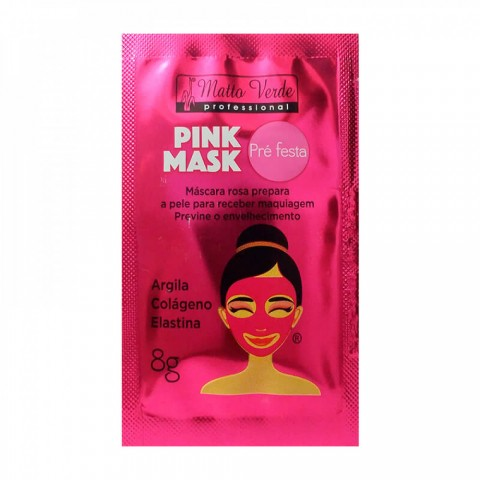 Máscara Pink Mask Matto Verde