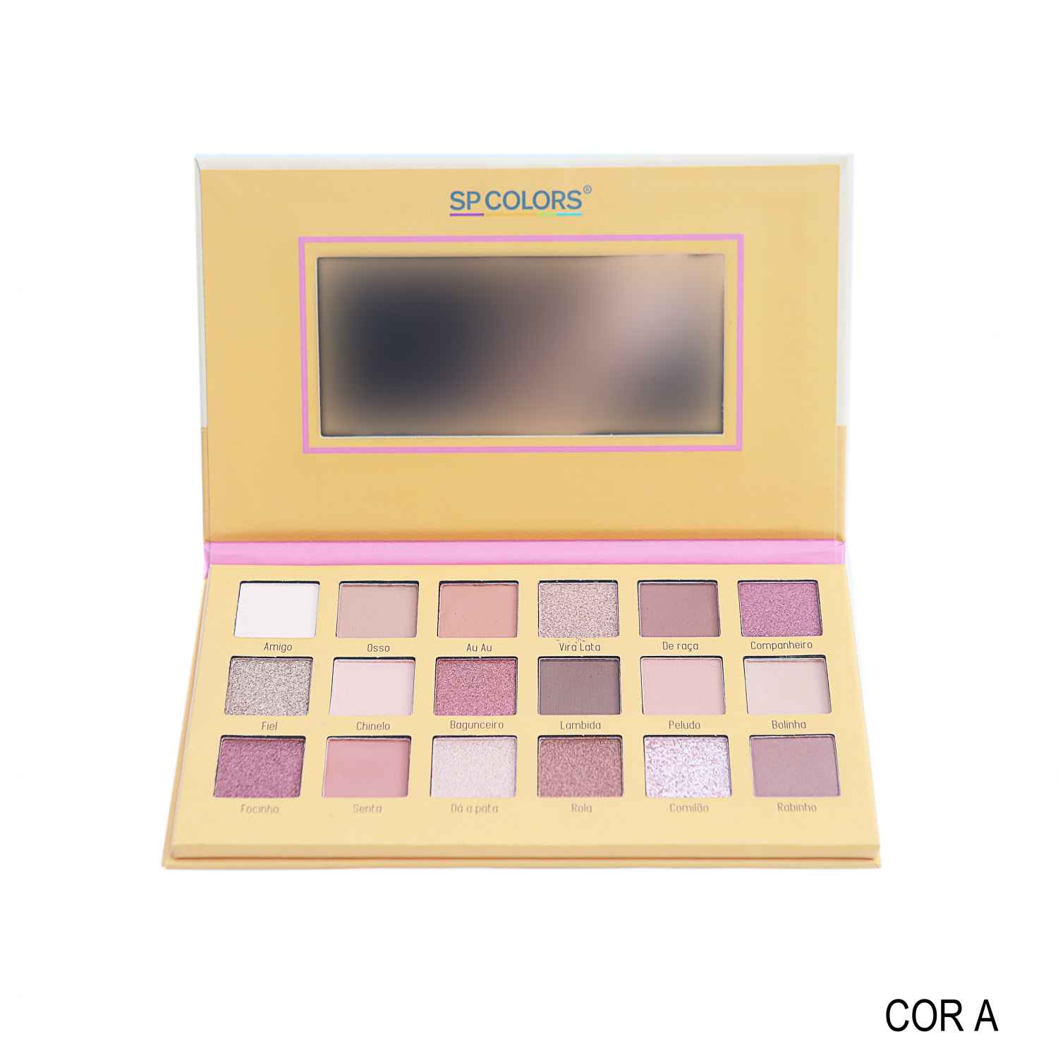 Paleta de Sombras Best Friends SP Colors A
