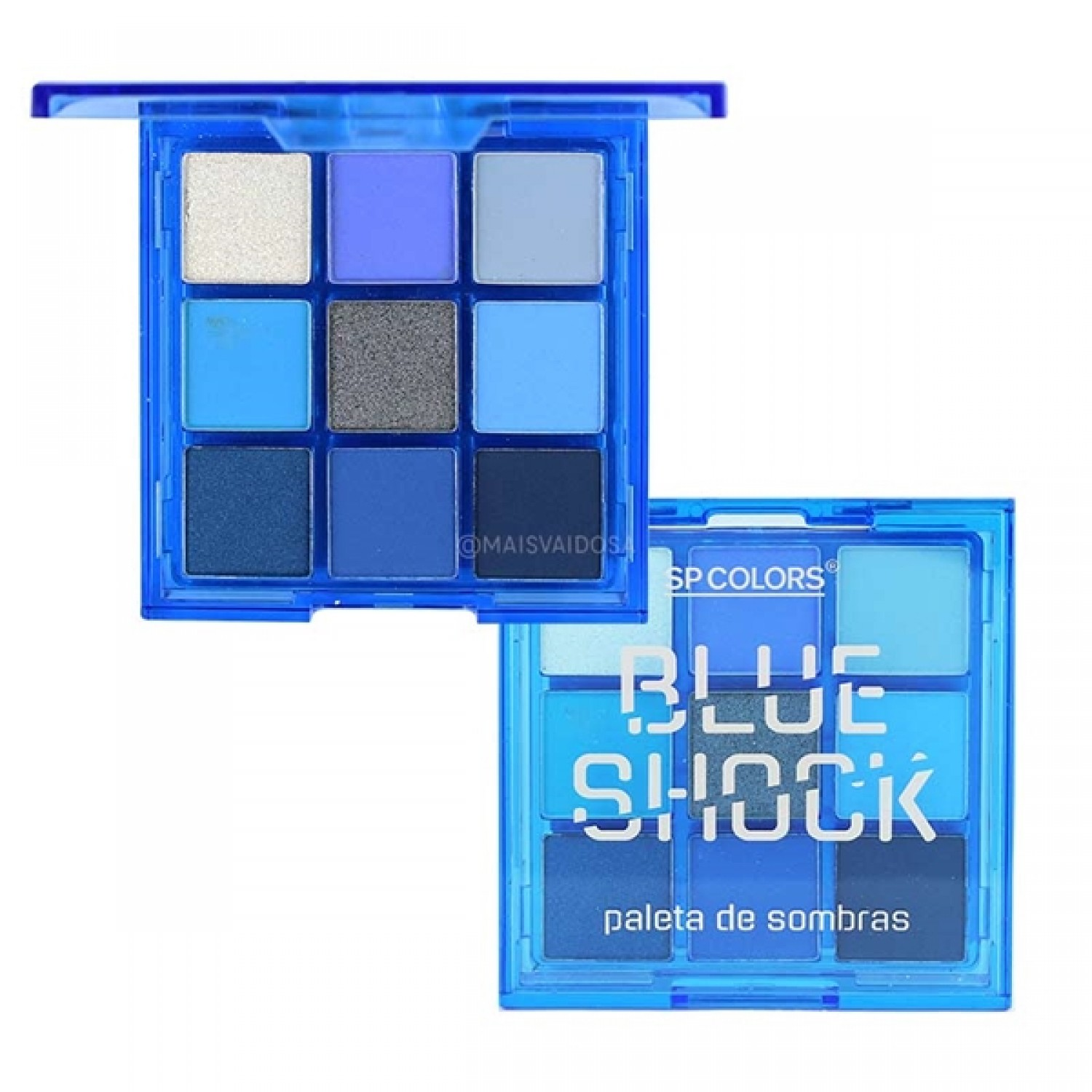 Paleta de Sombras Blue Shock - Sp Colors