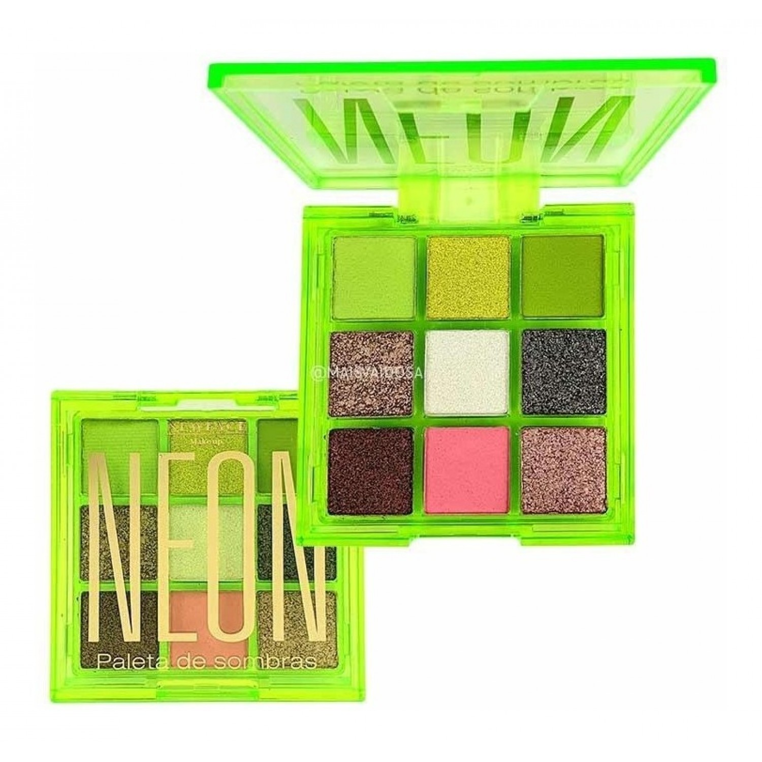 Paleta de Sombras Neon Cor 2 - NewFace Make up