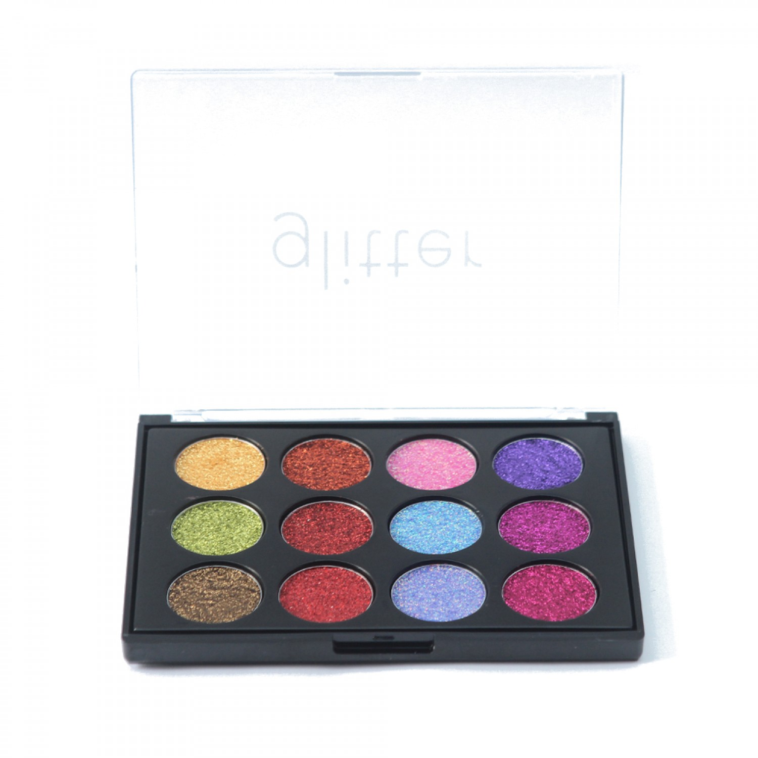 Paleta Extremly 12 color Glitter