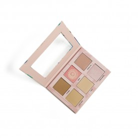 Paleta Hightlight Contour Blush Cheek Play Ruby Rose